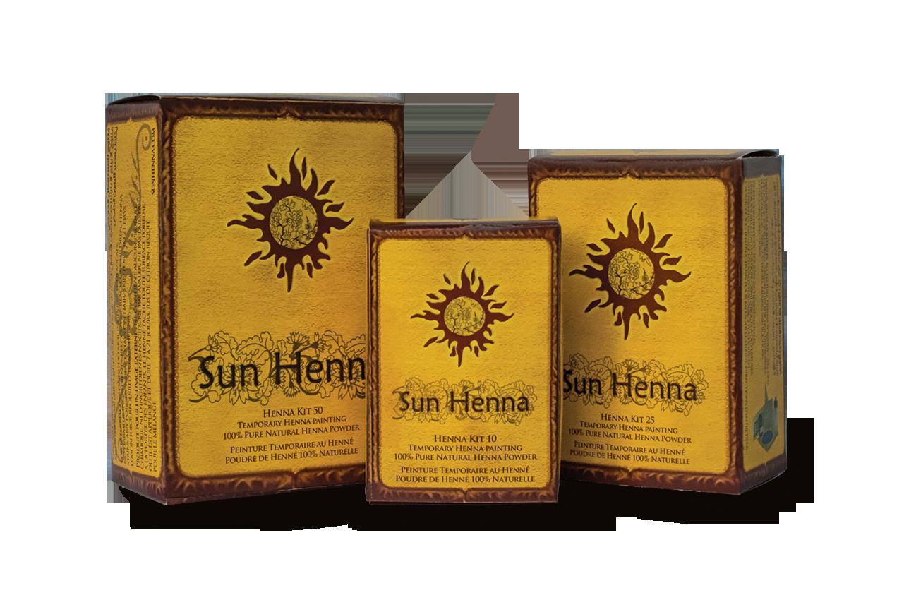 Sun Henna Kits