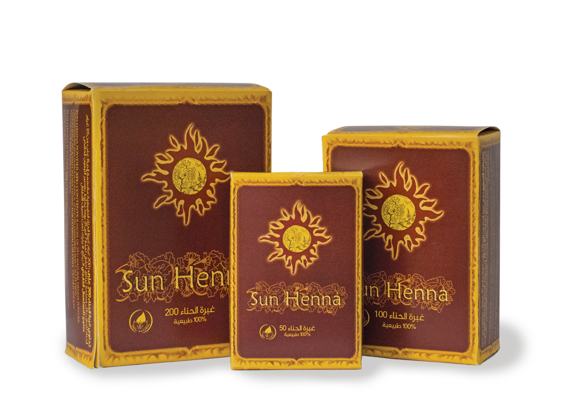 Sun Henna Powder Packs