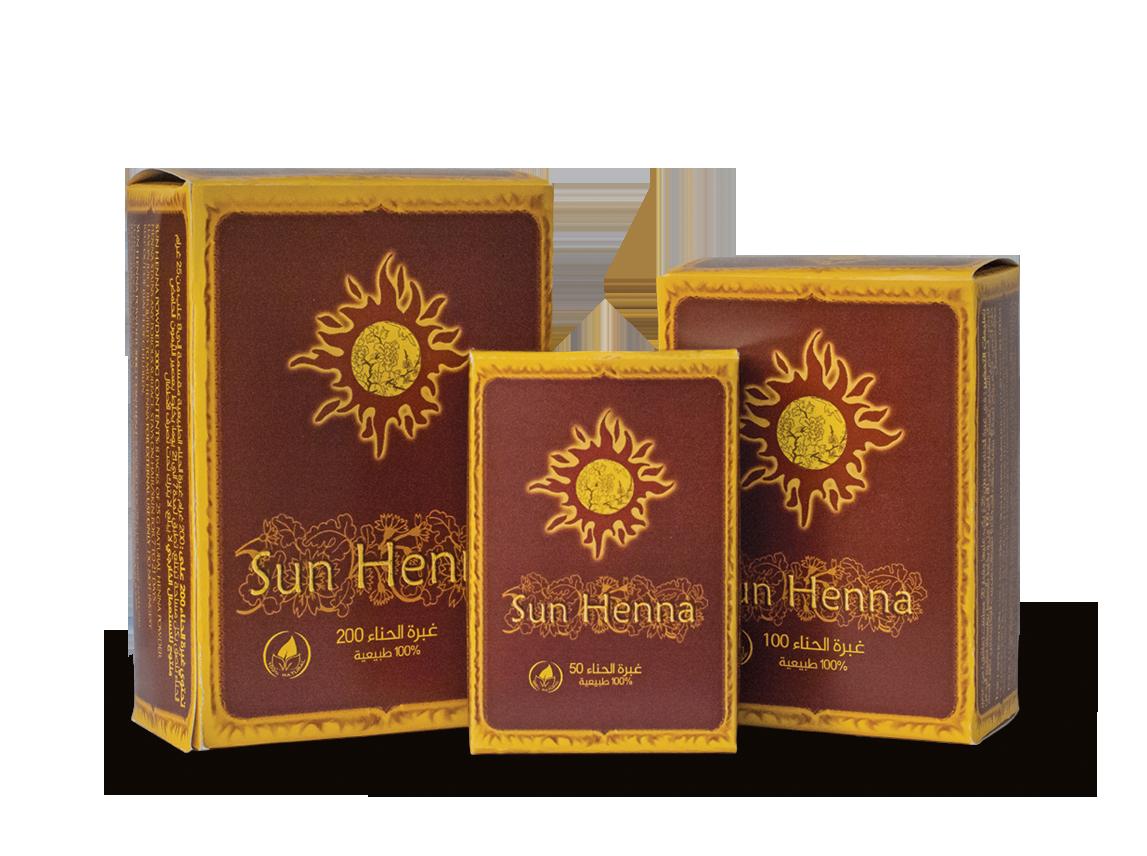Sun Henna Powders