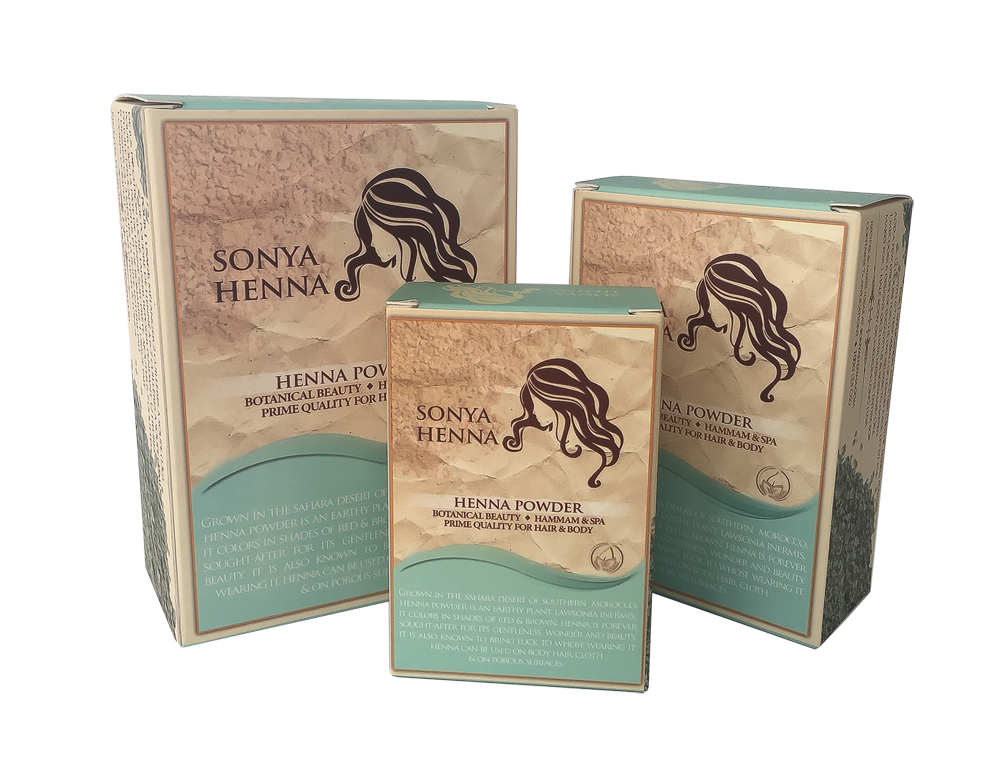 Sonya Henna all 3 products