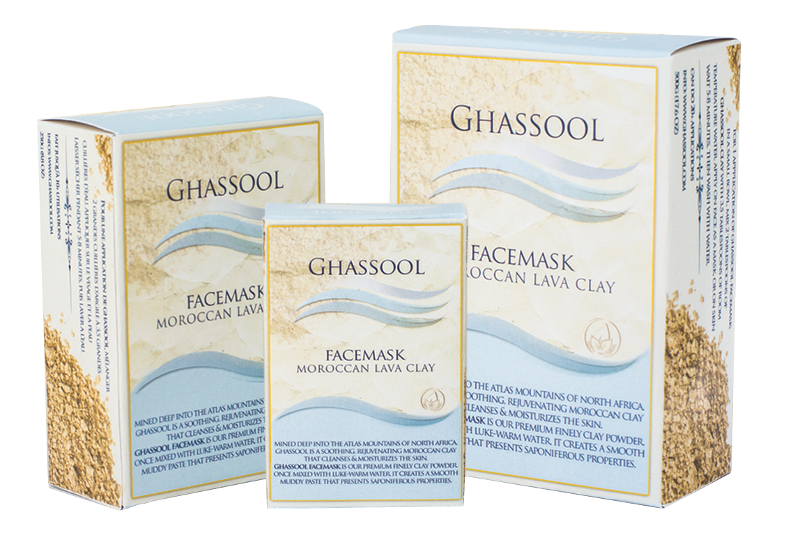 Ghassool FaceMask Clay by Atlas Cosmetics