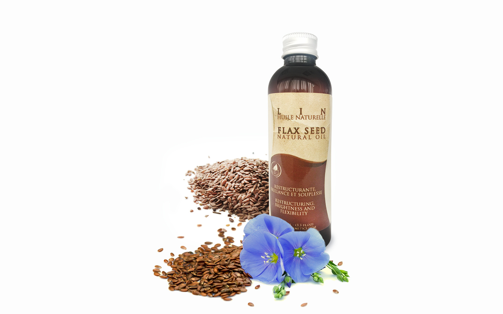 flax seeds natural oil by atlas cosmetics