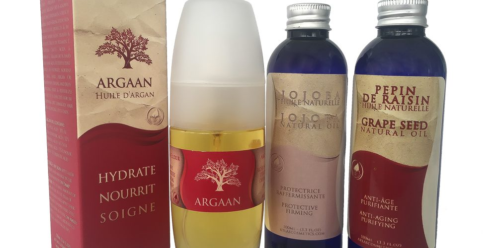 Face Treatment Natural Oils by Atlas Cosmetics