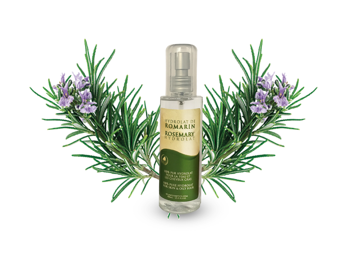 Azoor Rosemary floral water hydrolat by Atlas Cosmetics