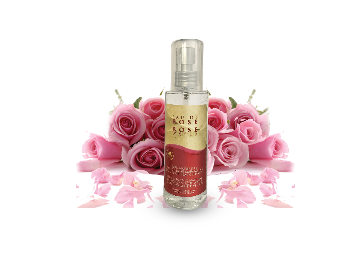 Azoor Make up remover Rose Water - Eau de Rose by Atlas Cosmetics